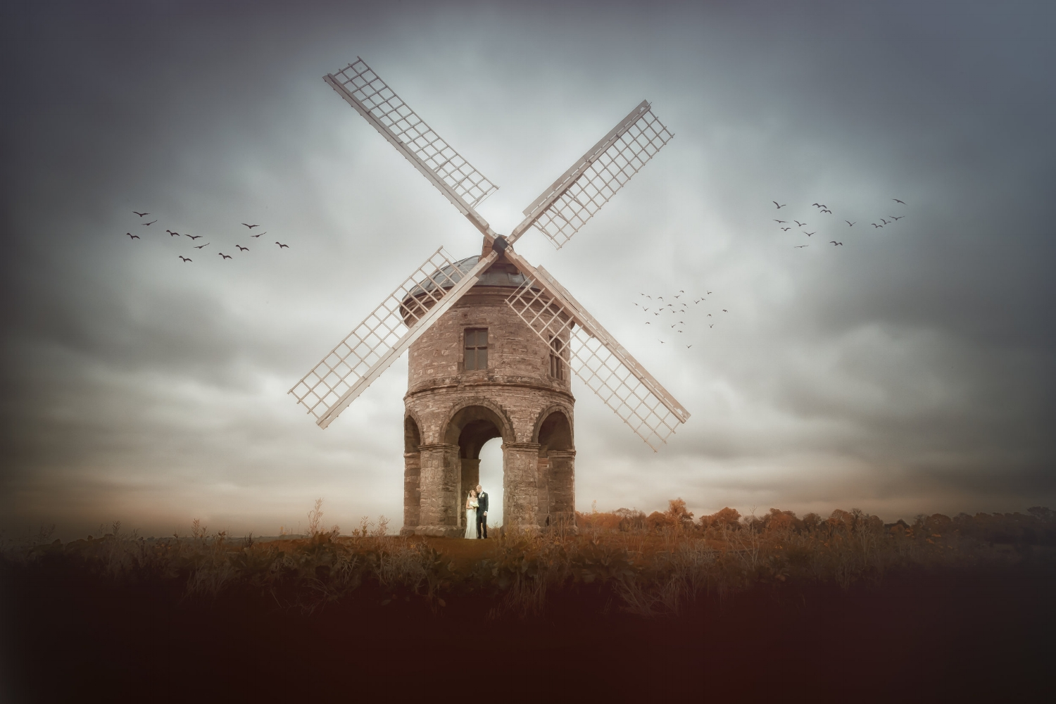 Wayne Hudson Photography, Lucria Creative, Cornwall and Devon wedding photographer based in Launceston. Image of Chesterton Windmill, Warwickshire