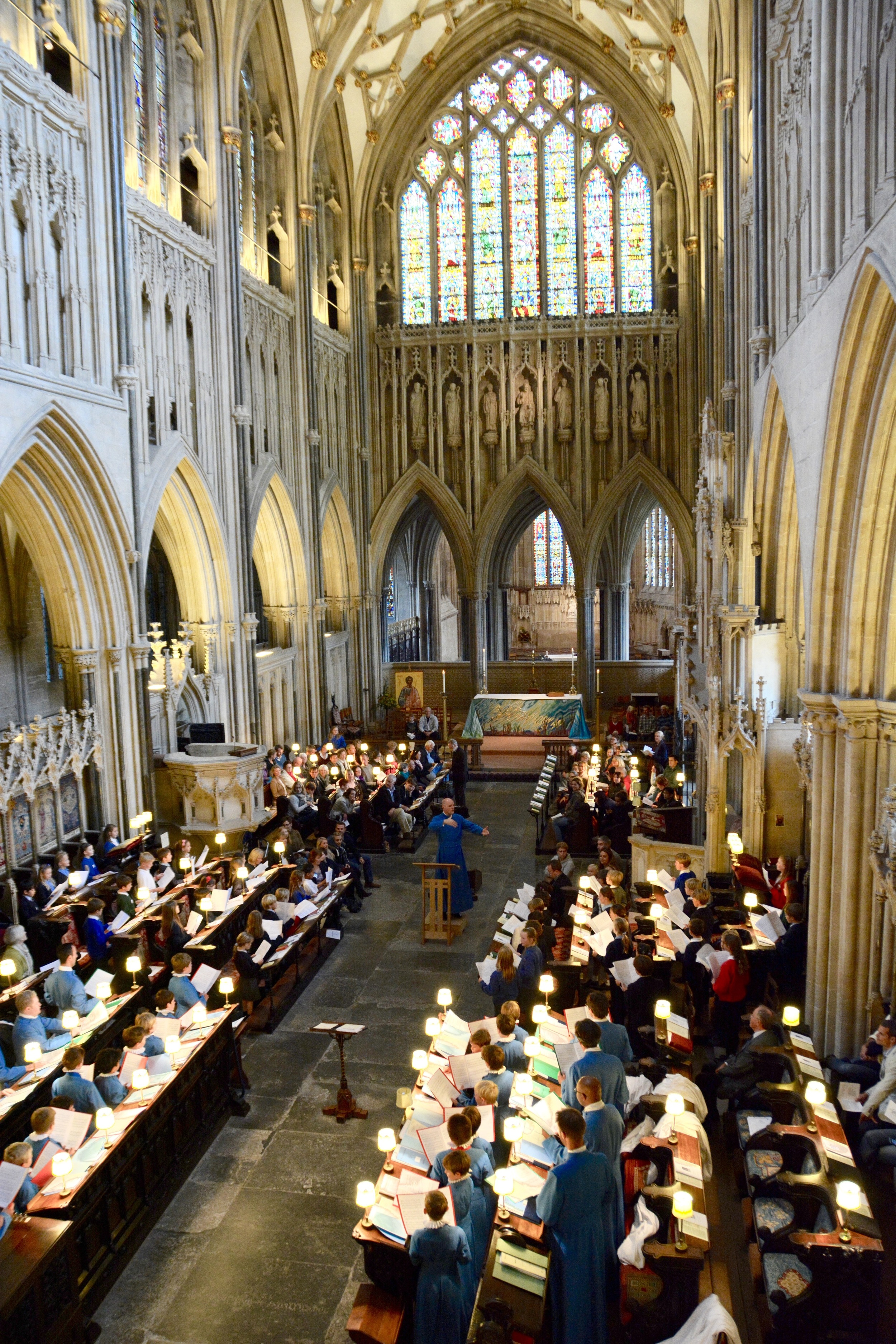 A full Quire for 'Be a Chorister for a Day'