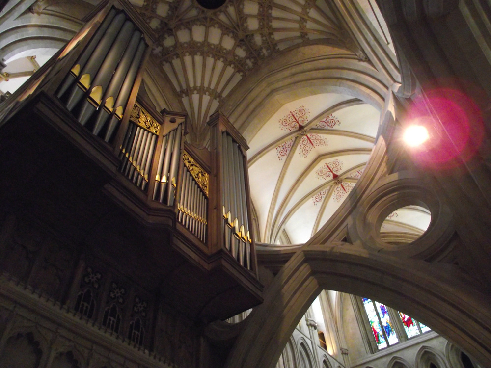 The Cathedral Organ will soon be restored to its former-sounding glory! (Photo: Owain Park)