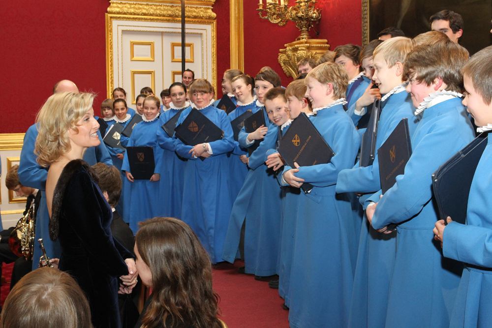 A Gala Concert at St James's Palace in the presence of HRH