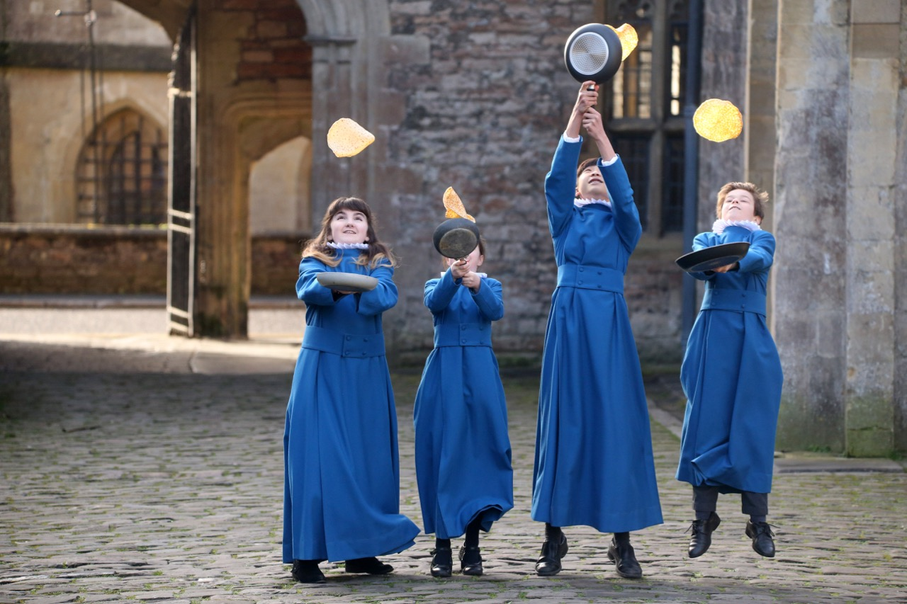Wells Cathedral Choristers Pancakes Shrove Tuesday  - 1.jpg