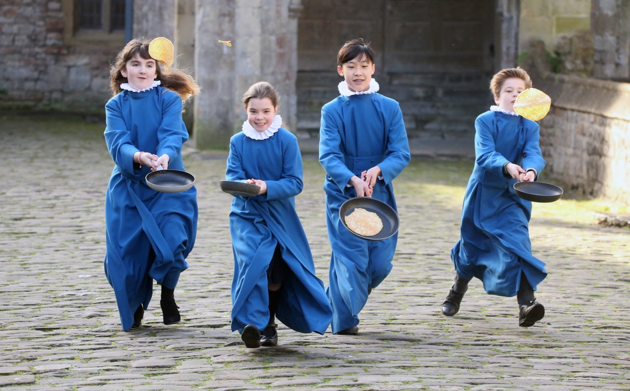Wells Cathedral Choristers Pancakes Shrove Tuesday  - 5.jpg