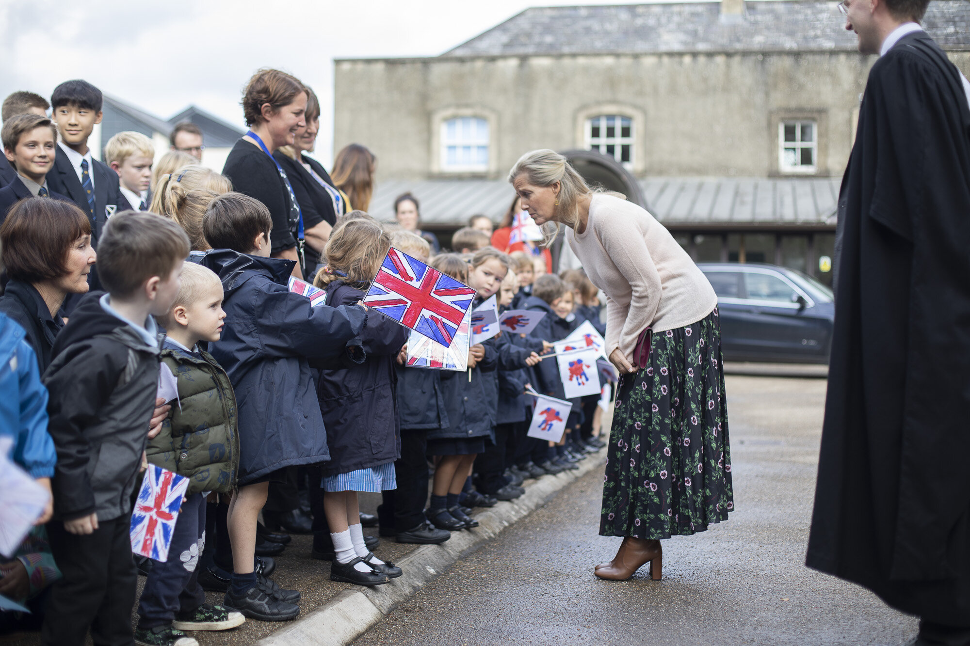 The Countess of Wessex visits Wells Cathedral Chorister Trust - September 2019 2.jpg