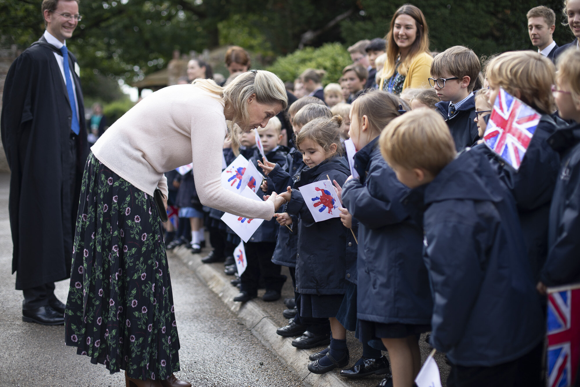 The Countess of Wessex visits Wells Cathedral Chorister Trust - September 2019 3.jpg