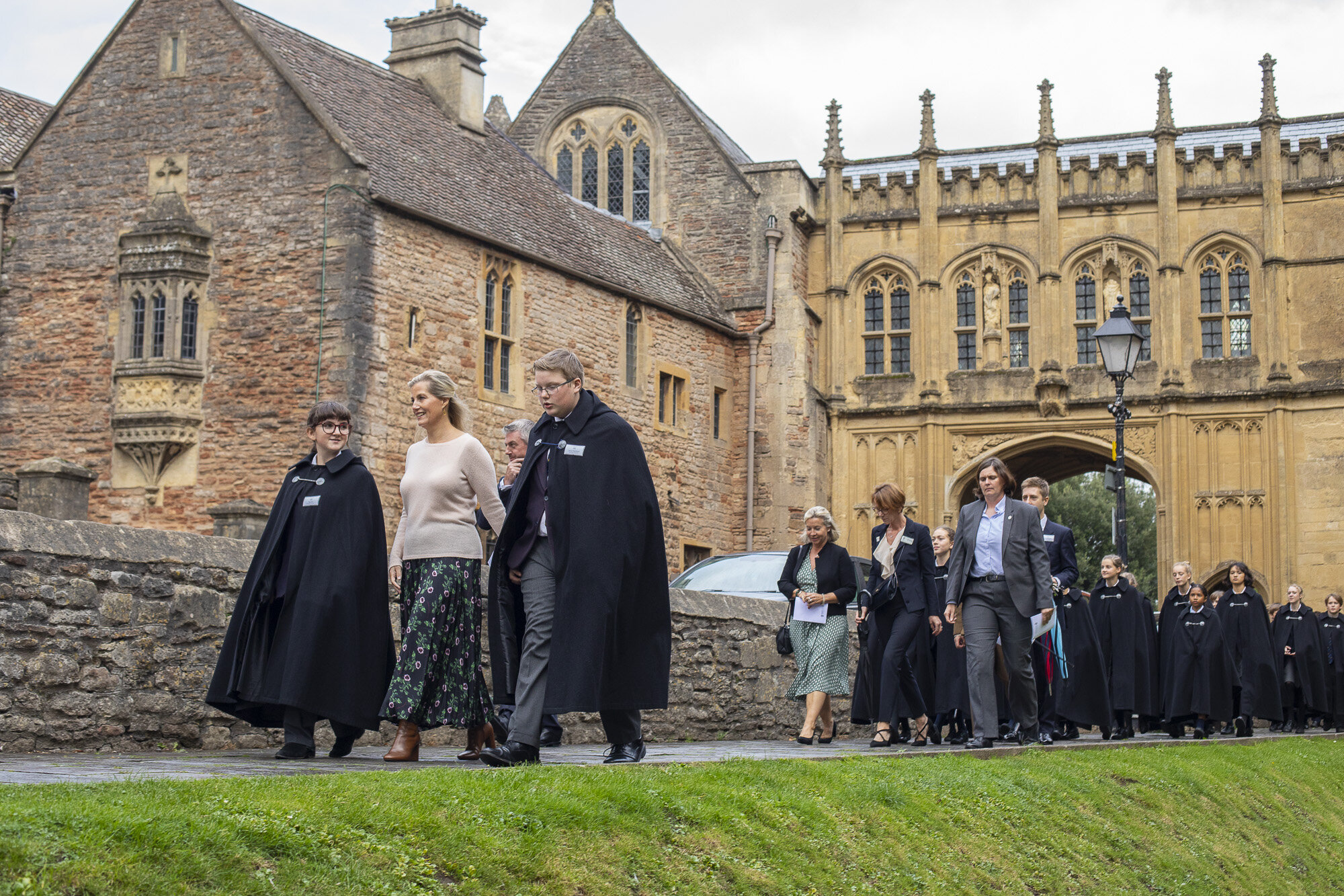 The Countess of Wessex visits Wells Cathedral Chorister Trust - September 2019 11.jpg