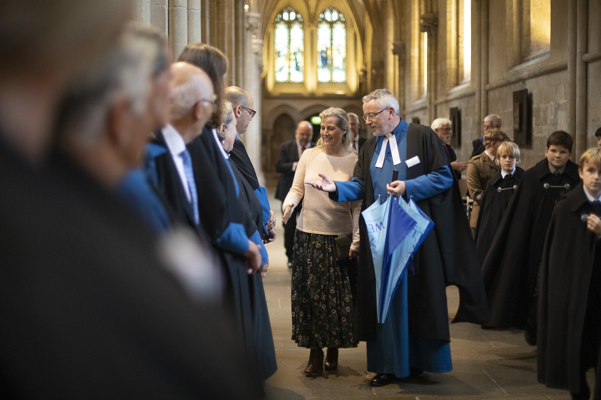 The Countess of Wessex visits Wells Cathedral Chorister Trust - September 2019 12.jpg