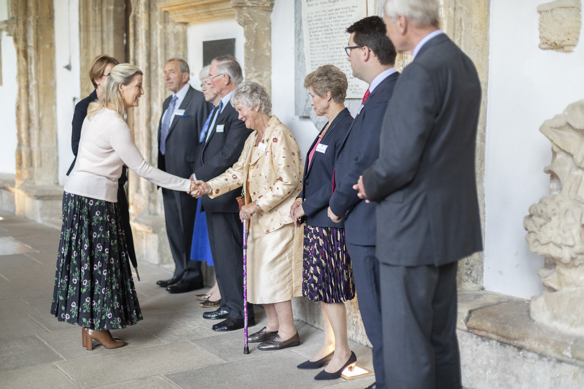 The Countess of Wessex visits Wells Cathedral Chorister Trust - September 2019 13.jpg