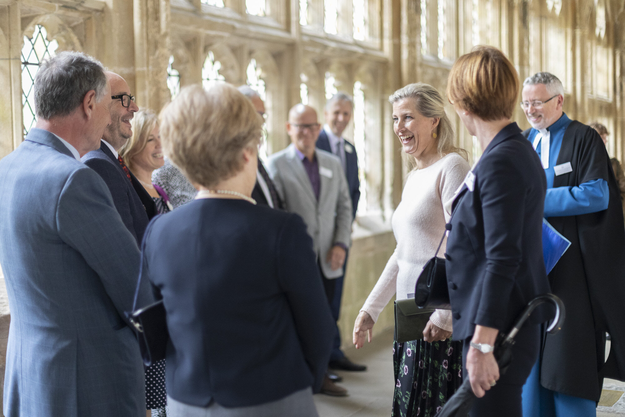 The Countess of Wessex visits Wells Cathedral Chorister Trust - September 2019 14.jpg