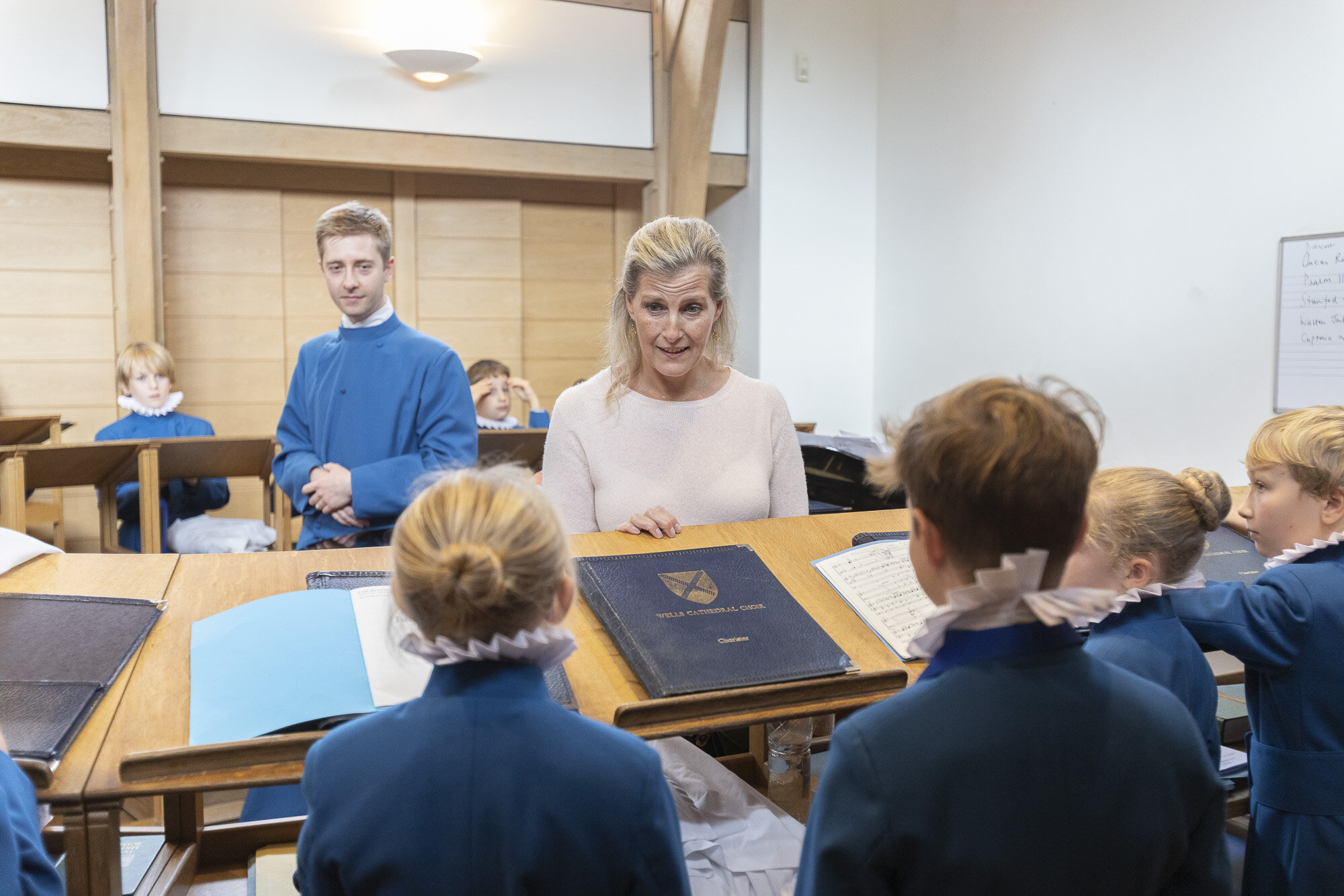 The Countess of Wessex visits Wells Cathedral Chorister Trust - September 2019 17.jpg