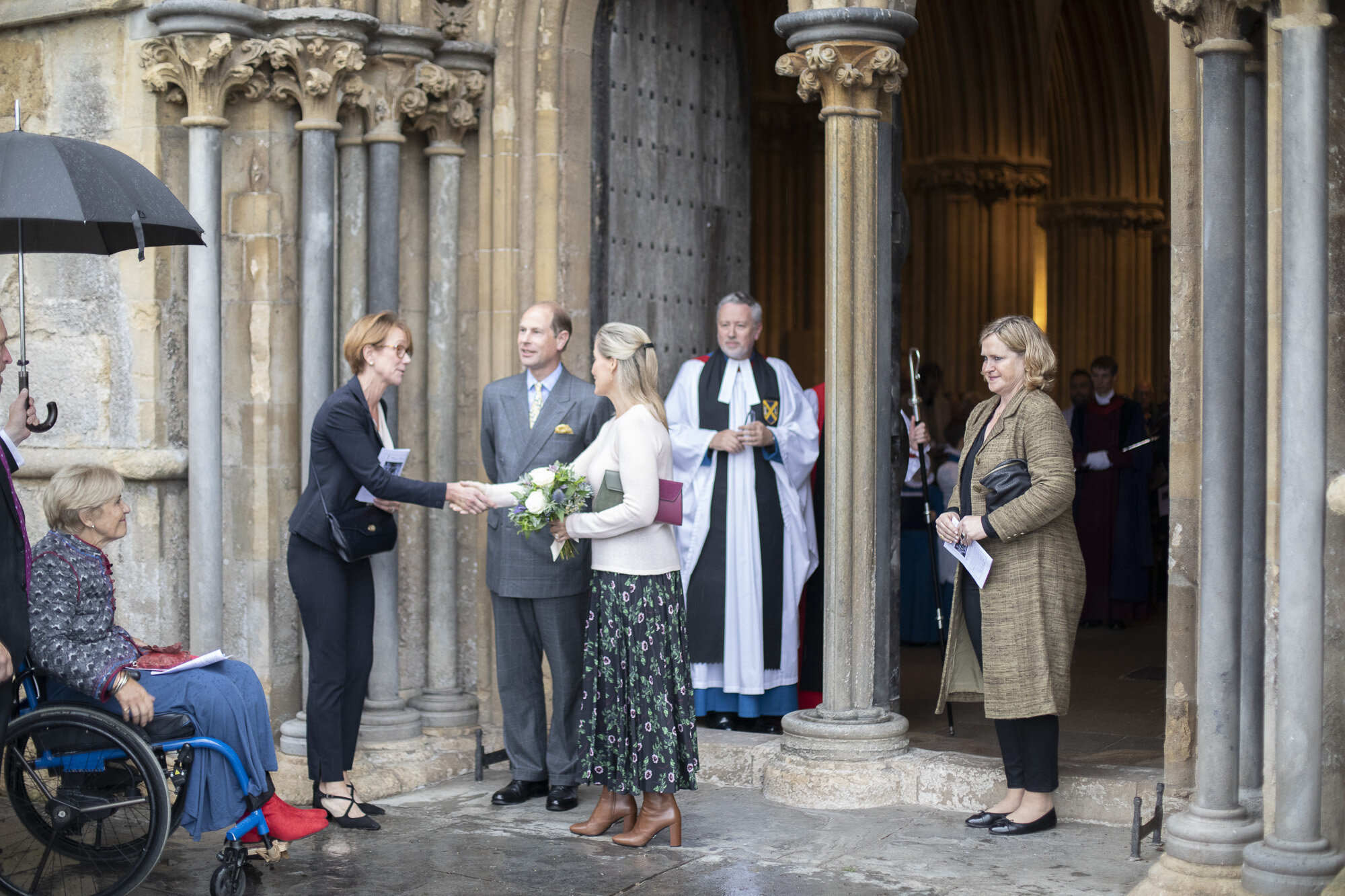 The Countess of Wessex visits Wells Cathedral Chorister Trust - September 2019 30.jpg