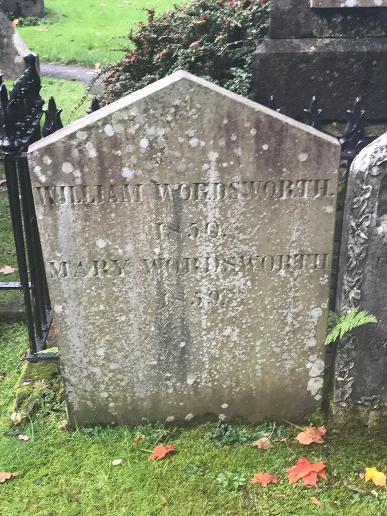 Wordsworth's grave