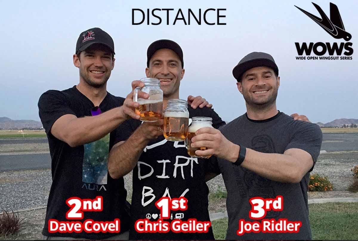 2016 WOWS Distance Podium - Perris