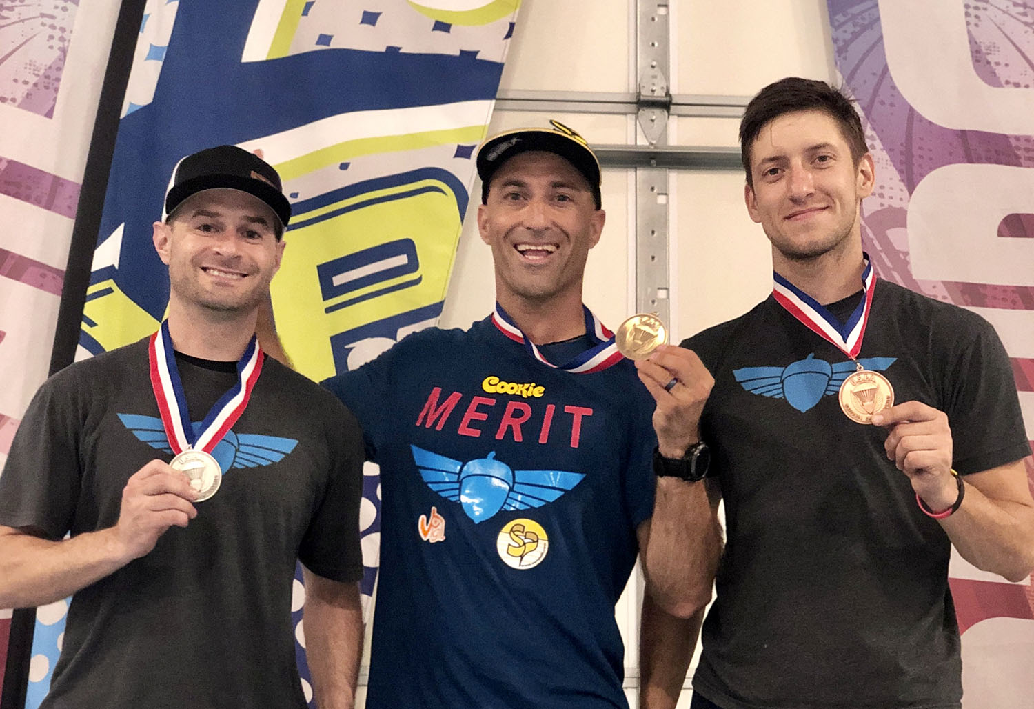 Podium at the 2019 USPA National Championships