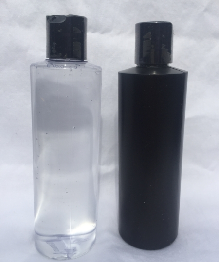 8 oz of Slik Willie FJ Lubricant- our non staining hybrid silicone lubricant in a completely plain package. Clear or black bottle.