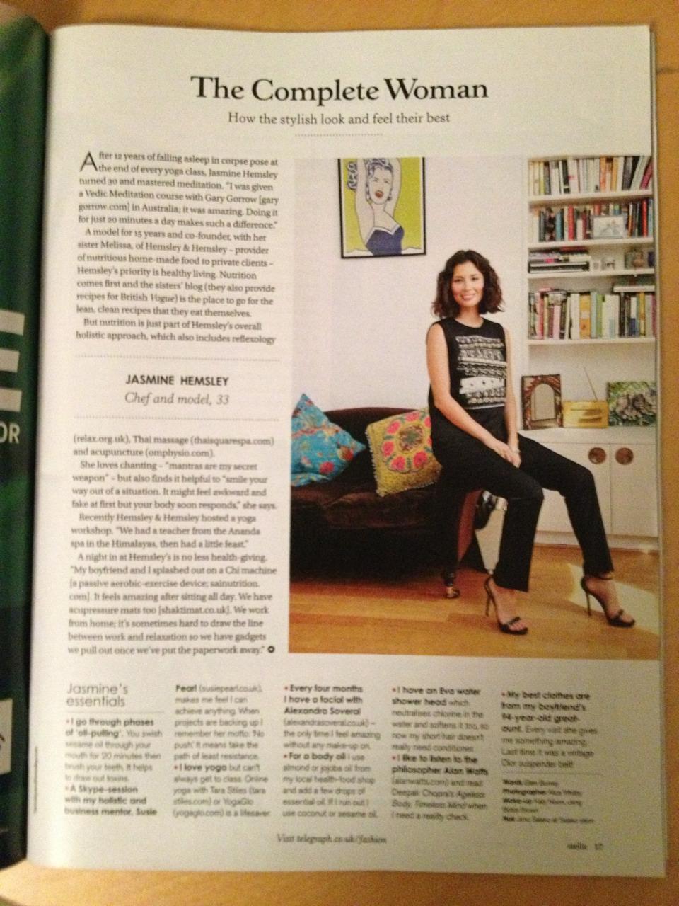 Jasmine Hemsley - Stella Magazine