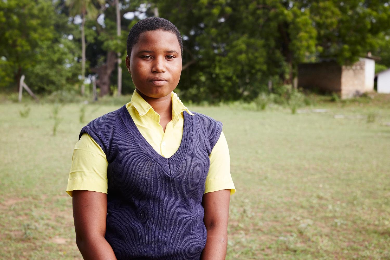 Ruth Karisa, 15 is a member of the girls forum. Mwakirunge, Mombasa. June 2016.