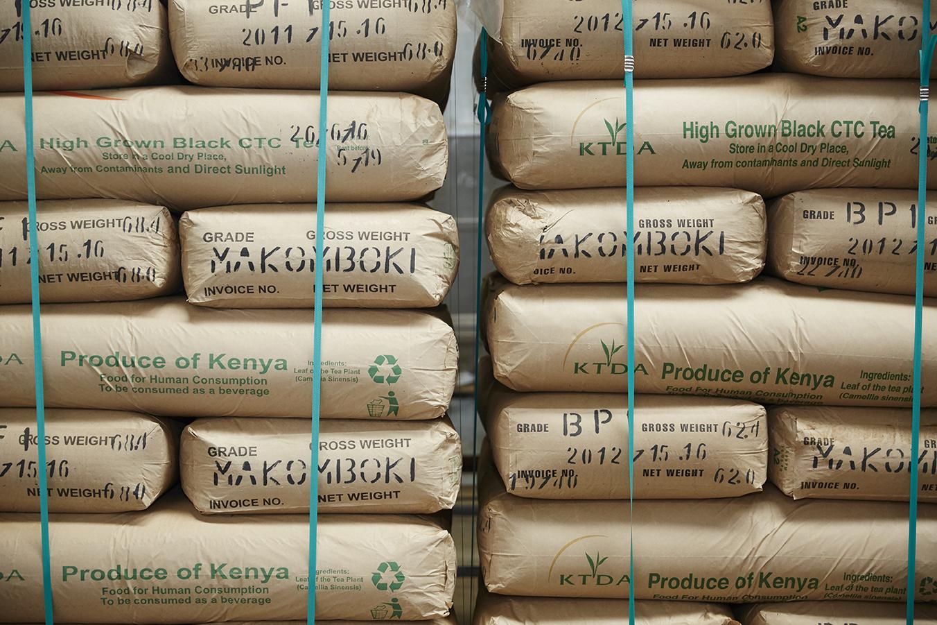 95% of Makomboki's   tea  is exported worldwide.