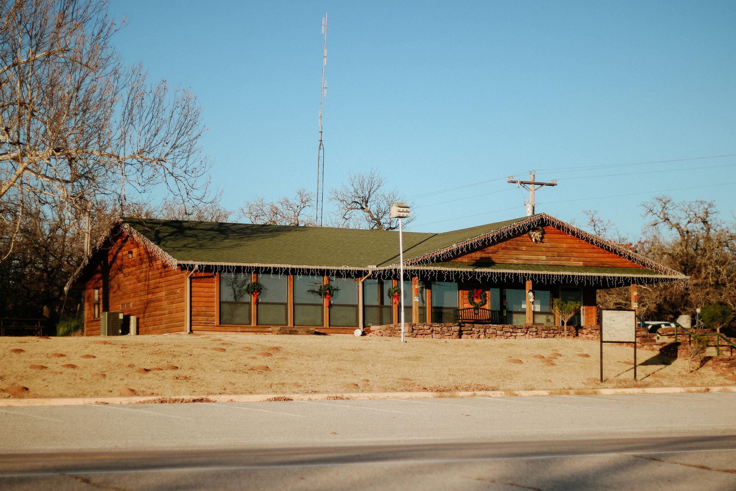 Lake Thunderbird State Park offices.