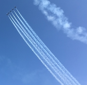 EAA 2017 Blue Angles Soaring.JPG