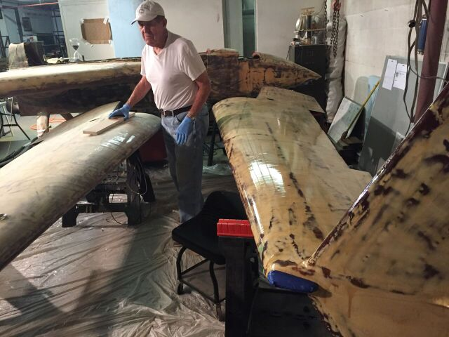 Oct 23, 2017 Sanding Skim Coat on Starboard Wing.jpeg