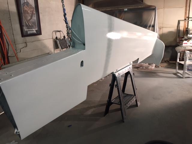 Port Wing Primed & Ready for Final White Paint.JPG