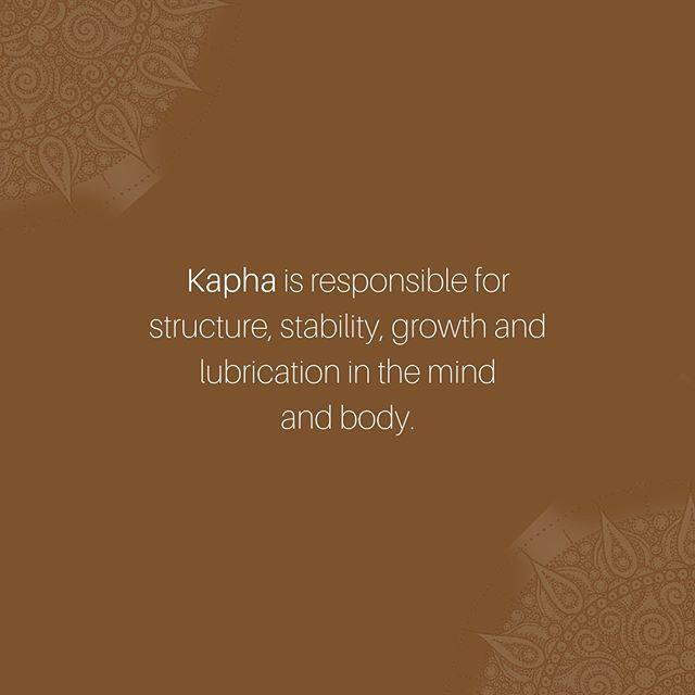 K a p h a ~ #suananda #ayurveda #kapha