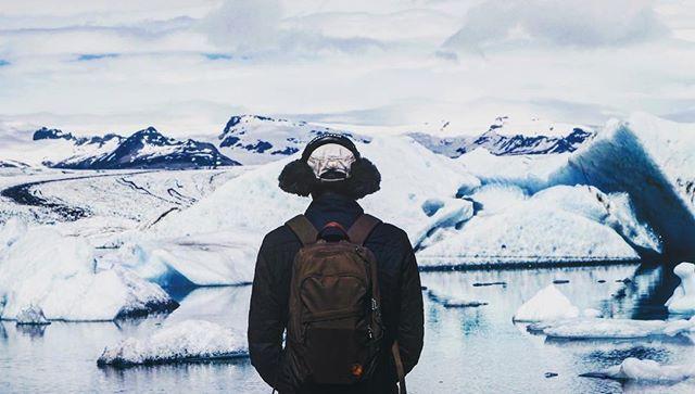 Listening to icebergs 🇮🇸 . . . . . #iceland #travel #soundrecordist #wilderness #listen #soundscape #deeplistening