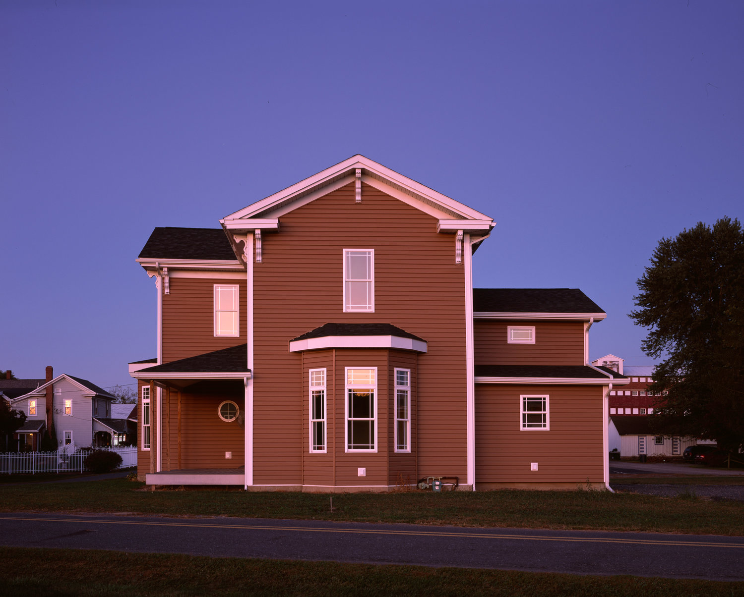 Computer Generated Physically Built House, Pennsylvania, 2015