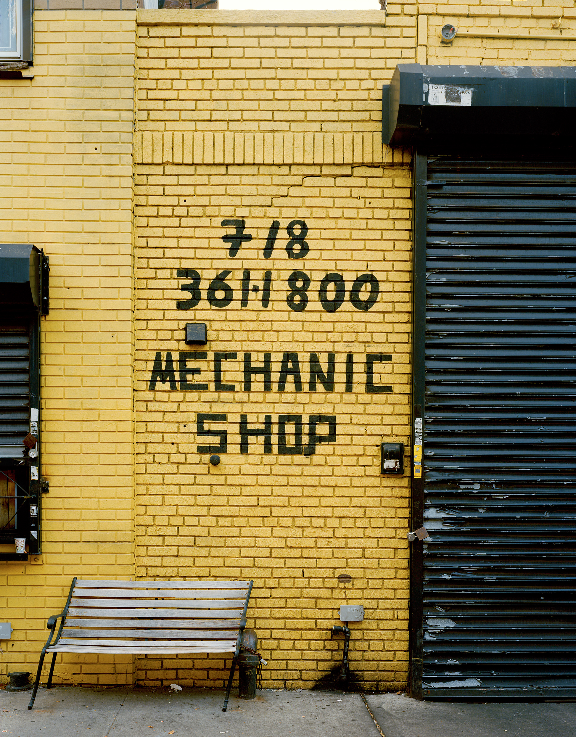 Mechanic Shop, Astoria