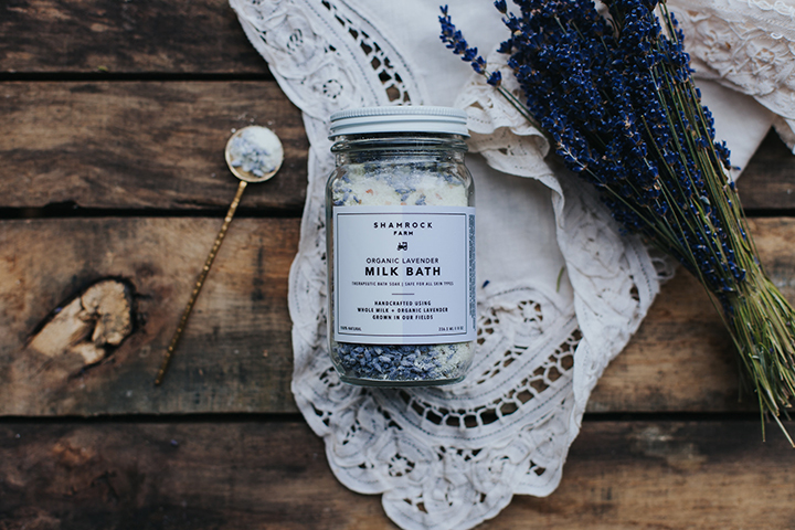 Organic Lavender Milk Bath - 1 of 9 lavender product designs.