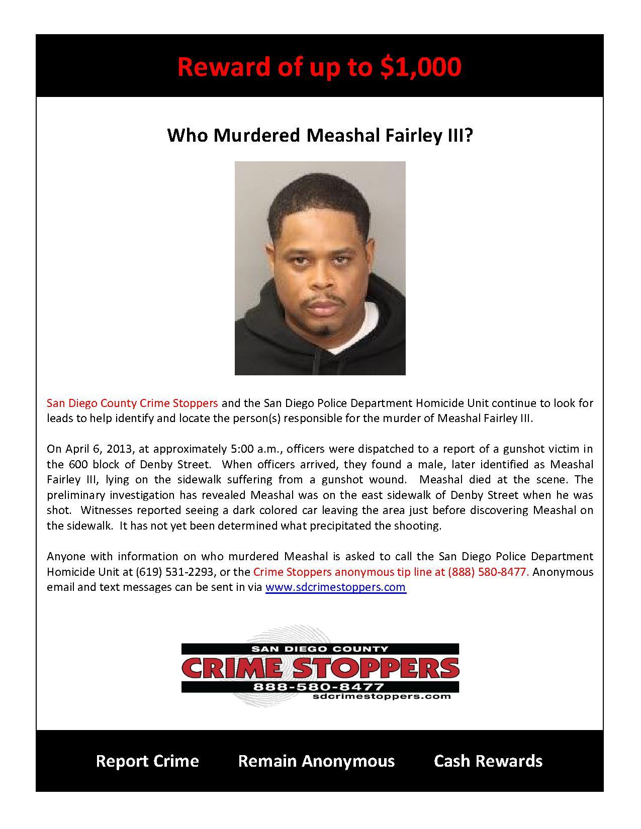 Who Murdered Meashal Fairley III_1