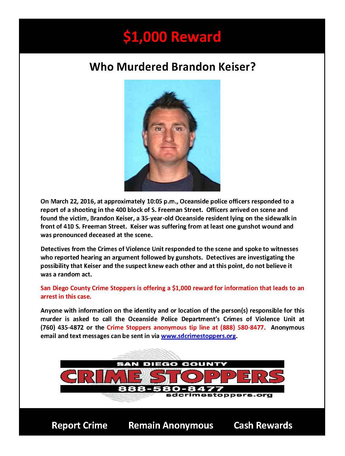 042016 Who Murdered Brandon Keiser