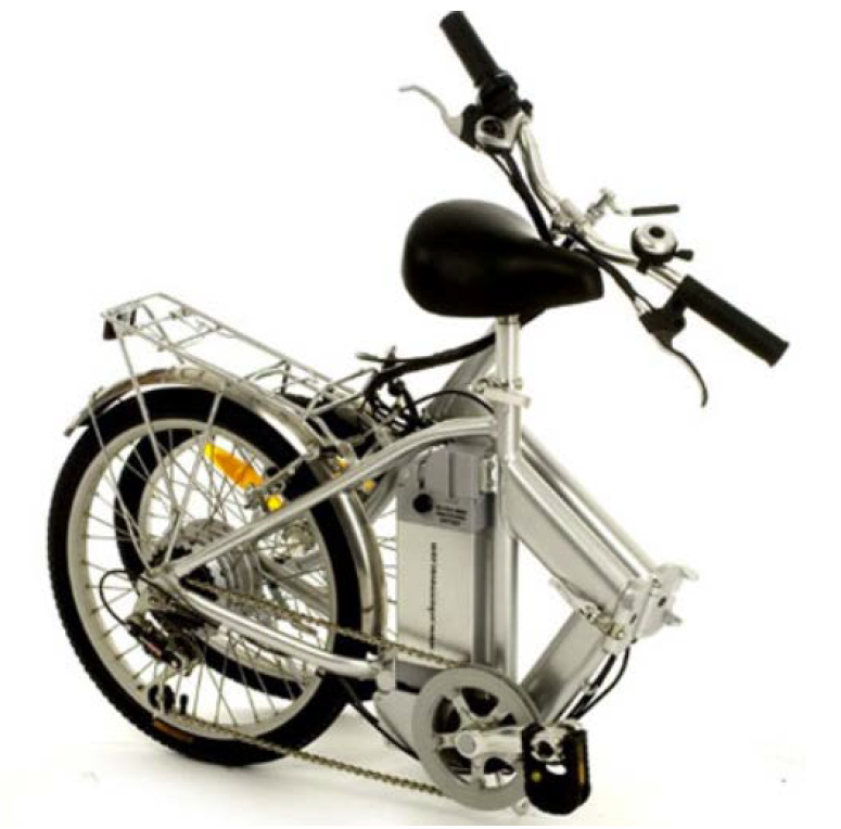 Generic Photo of Urban Mover UTerrain-UM24 Electric Folding Bicycle