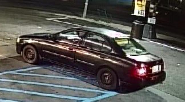 suspects vehicle