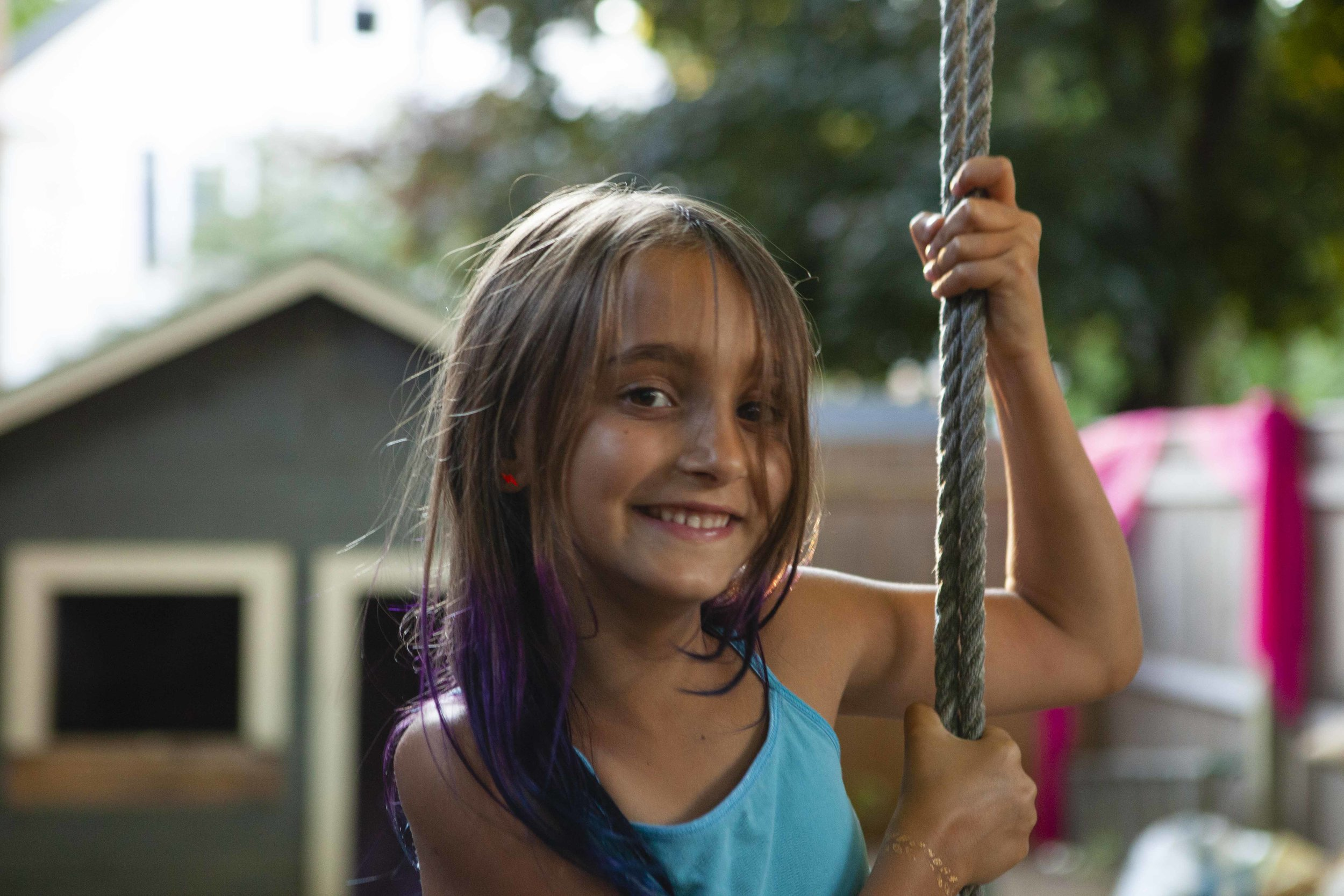 Eileen's super photogenic daughter Isabella Fauci.