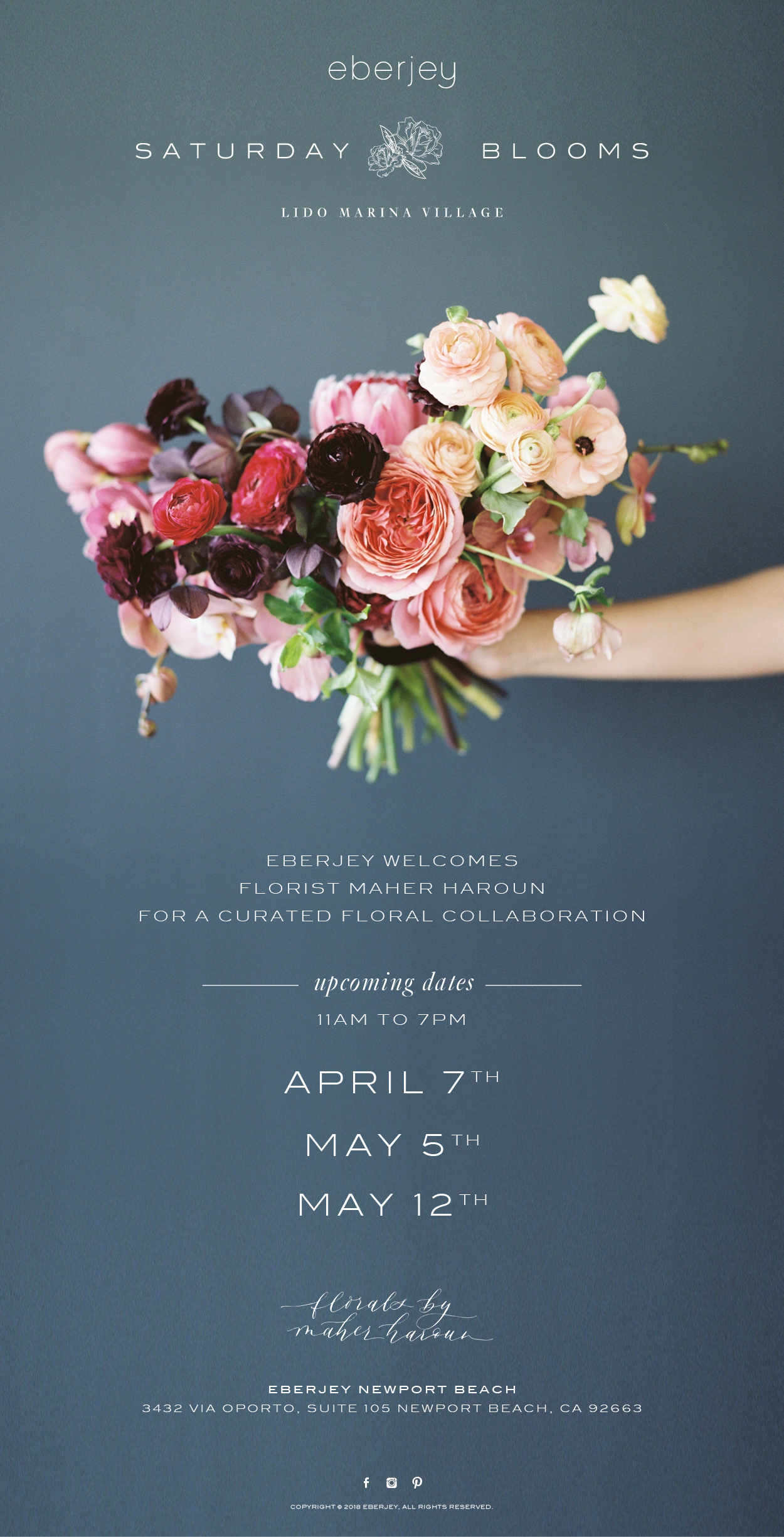 Saturday Blooms at Eberjey Newport Beach.jpg