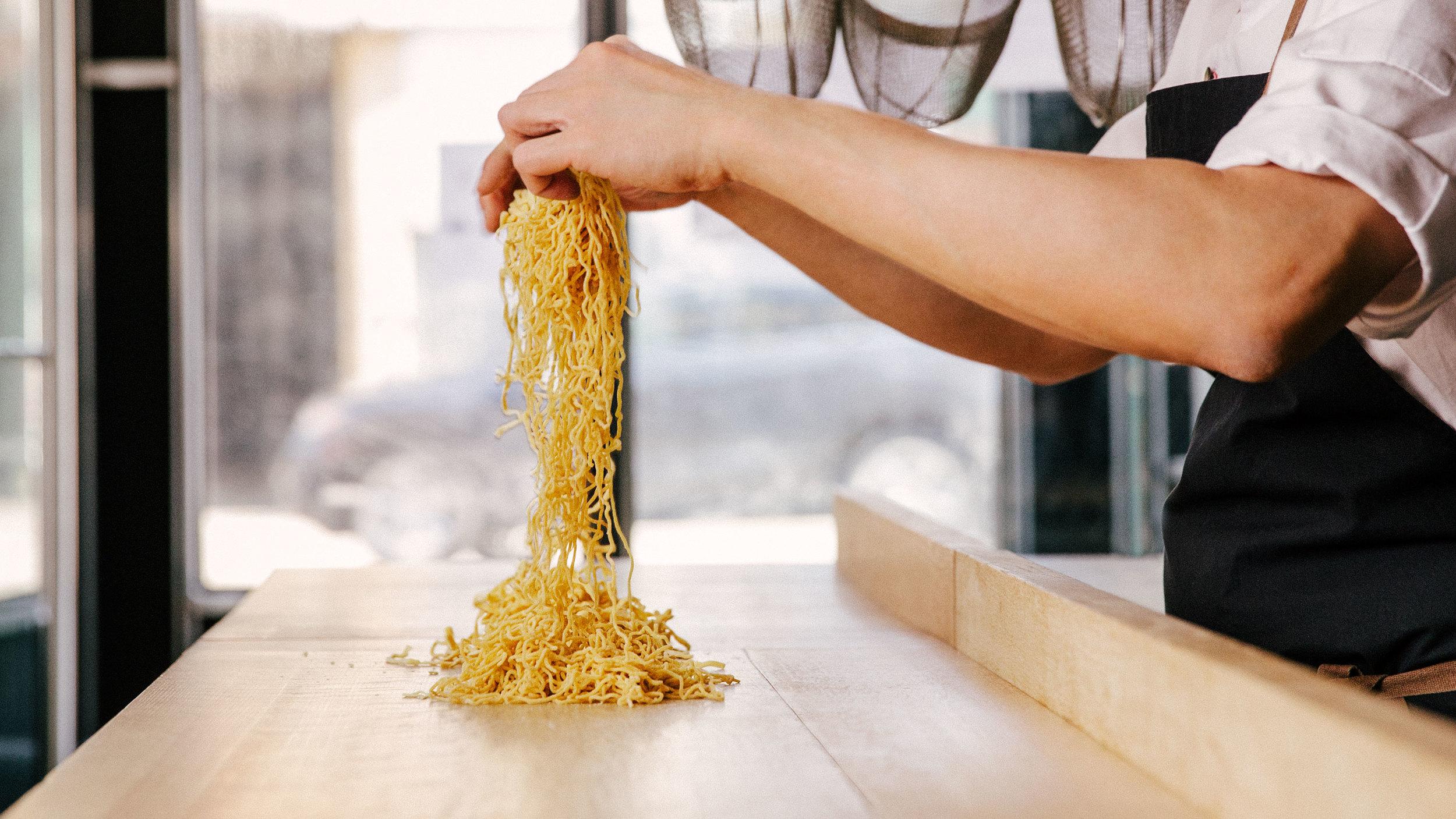 Hong Kong Style Egg Noodles