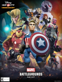 The  Marvel Battlegrounds playset was recently released for  3.0 , bringing new figures and arena-style combat to the game.