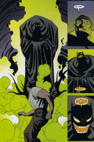 Bruce Wayne confronts his own demons in Cooke's character master class,  Batman: Ego  .