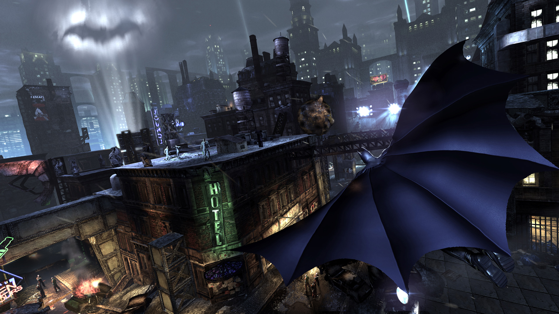 As with combat, gliding is as effortless as ever, giving you great visuals and helpful tools to use in your effort to shut Arkham City down.