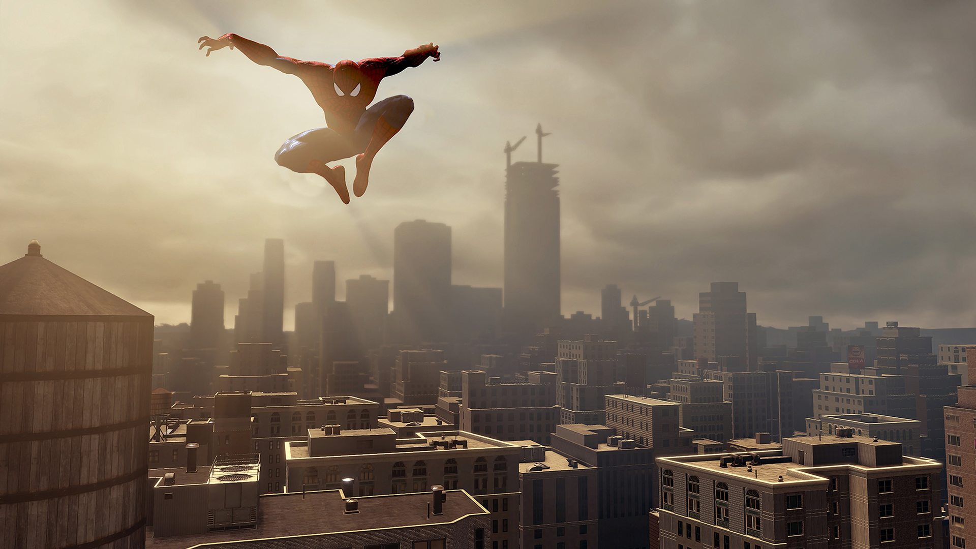 Unsurprisingly, and in spite of some bugs present, the most fun you're going to have in  ASM2  will likely be in swinging through the faithful recreation of New York City.