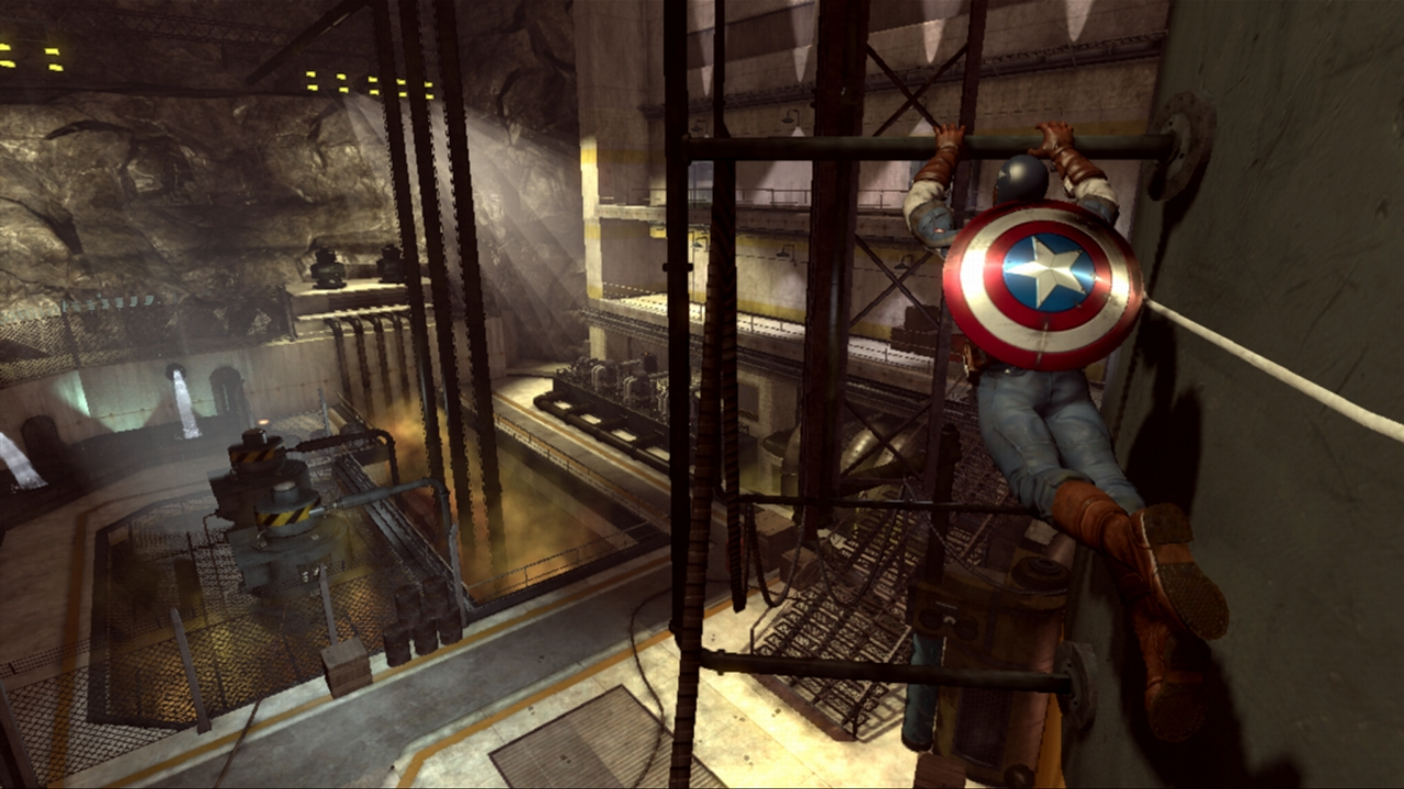 The platforming segments help to emphasize Cap's deftness in moving his body quickly, but in the end they don't do quite enough justice to the idea of platforming to make it a really positive addition. They  do  help vary the experience, though.