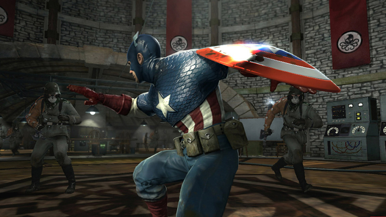 It may have taken some doing, but I eventually got that sweet, sweet classic Cap costume.