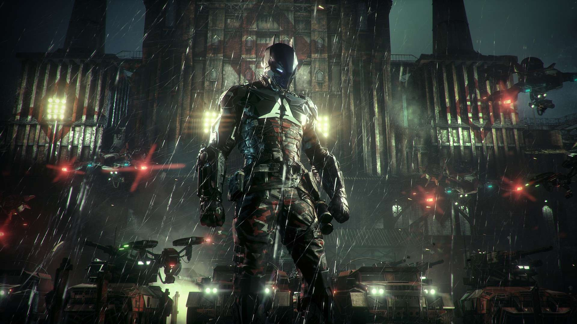 """Much of the main story in the game revolves around the titular """"Arkham Knight:"""" a mysterious paramilitary commander who seeks to settle a very personal score with Batman by ending the Dark Knight's life, no matter who or what gets in his way."""