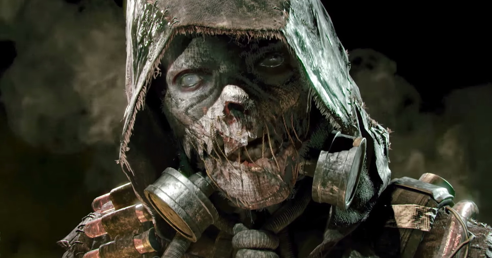 Returning to end the Dark Knight once and for all, the Scarecrow appears in the game in one of his most gruesome and horrifying guises yet, in any medium we've seen him in.