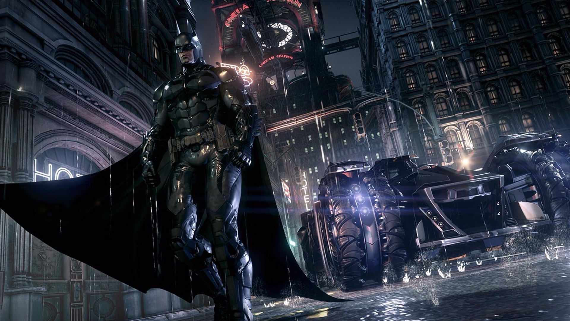 For the first time in the  Arkham  series, players can fulfill one of the most common fantasies of Batman fans, and drive the game's brilliantly-realized vision of the dangerous and iconic Batmobile.