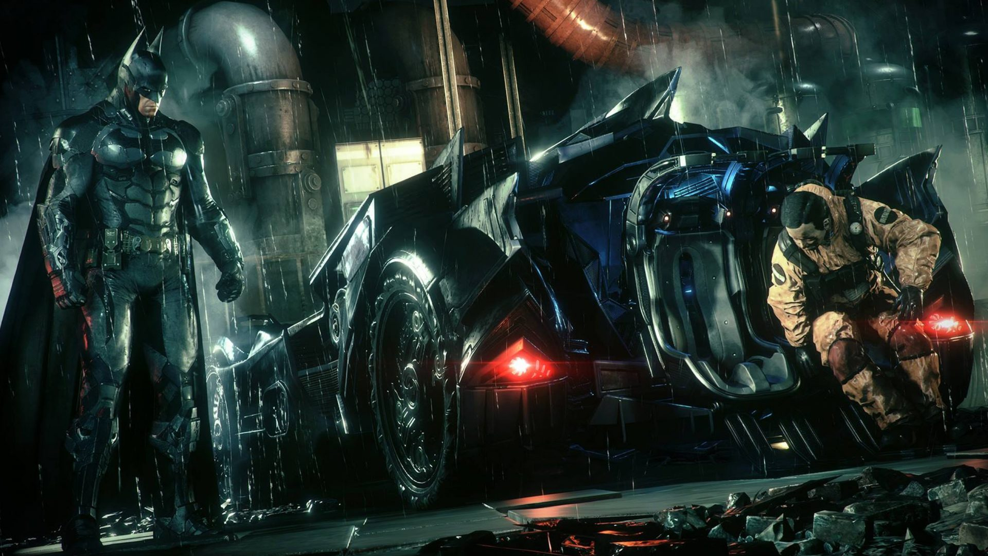Using the car doesn't just extend to stopping crime, as it also helps you do what Batman is meant to do: save innocents.
