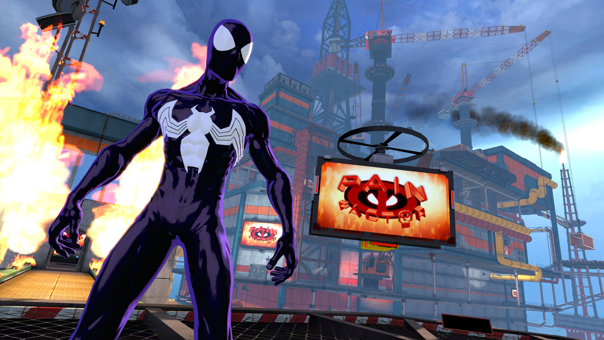 While the Spider-Man of the Ultimate universe isn't nearly as different from the traditional Peter Parker as Spidey Noir or 2099, Beenox gave him the symbiote suit — made famous by implacable Spidey foe Venom — to make this portion of the game more dependent on sheer, brute force than any of the others.