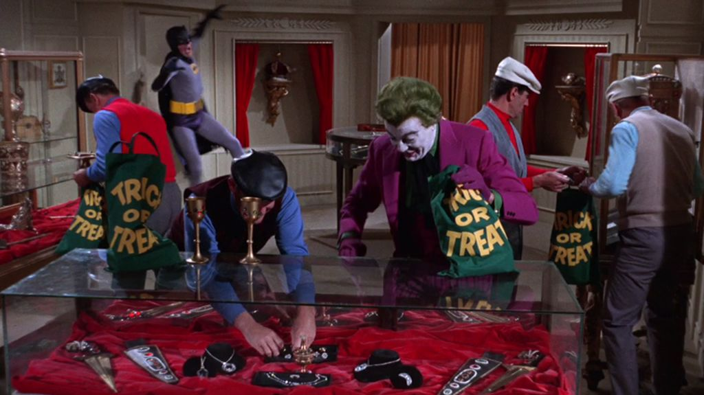 """Just look at this frame, captured from the Blu-ray set's presentation of the season one episode """"The Joker is Wild."""" Goofiness and exaggeration like this is just a small example of what's to be found in the entire series."""