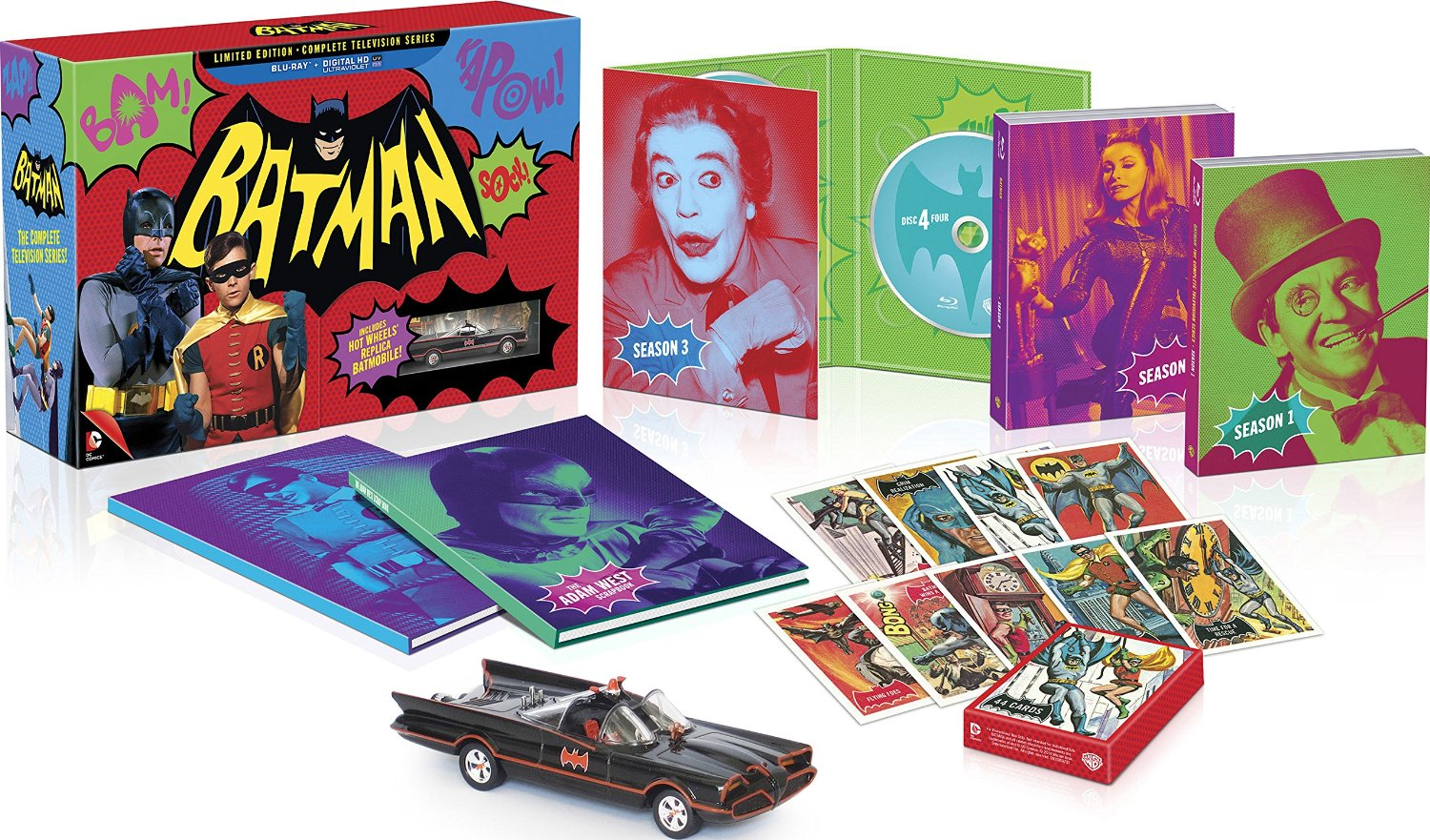 """The limited edition Blu-ray boxed set of """"Batman: The Complete Television Series,"""" released in November, 2014."""